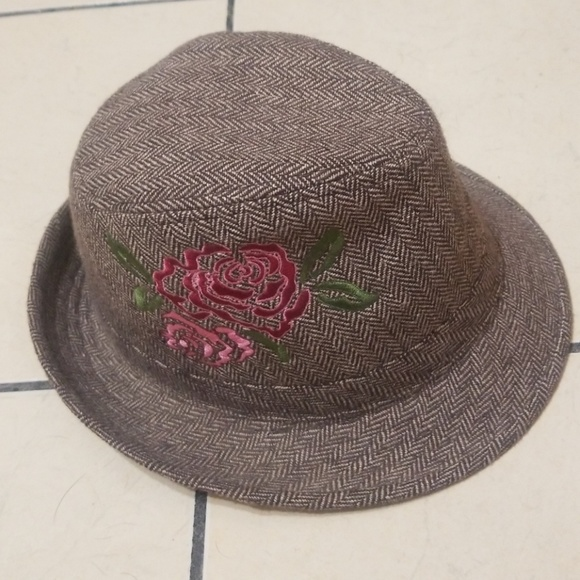 Embroidered fedora 105a7861699